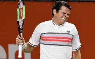 Tennis: tennis grand slam tokyo milos raonic