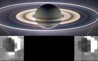 Astronomia: encelado  luciano iess  luna di saturno