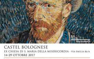 Arte: castel bolognese  mostra  van gogh