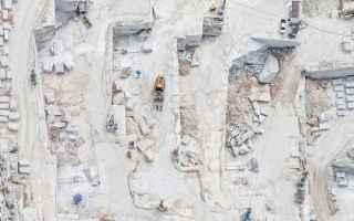 Immagini virali: fotografia  fotografia aerea  carrara  cave di carrara  marmo di carrara