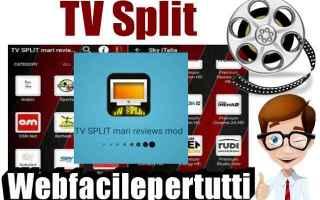 tv split   app  iptv  android