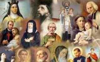 santi oggi  giornata  calendario  9 otto