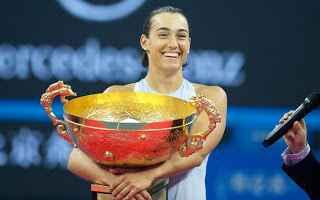 Tennis: tennis grand slam pechino garcia