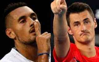 Tennis: tennis grand slam kyrgios tomic news