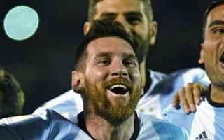 Nazionale: messi  argentina  russia 2018  mondiali di calcio