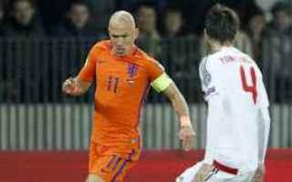 Nazionale: calcio  mondiali  olanda  qualificazioni  russia 2018