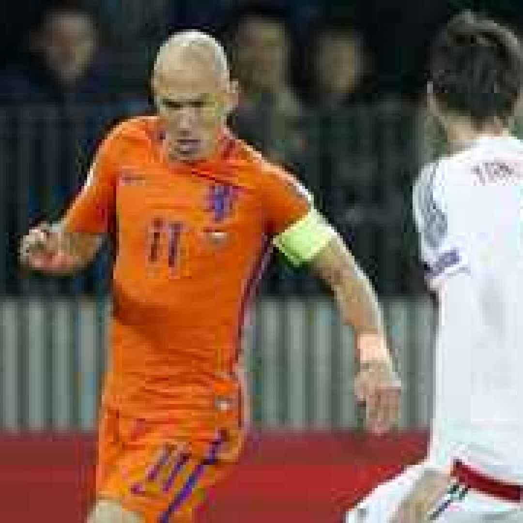 calcio  mondiali  olanda  qualificazioni  russia 2018
