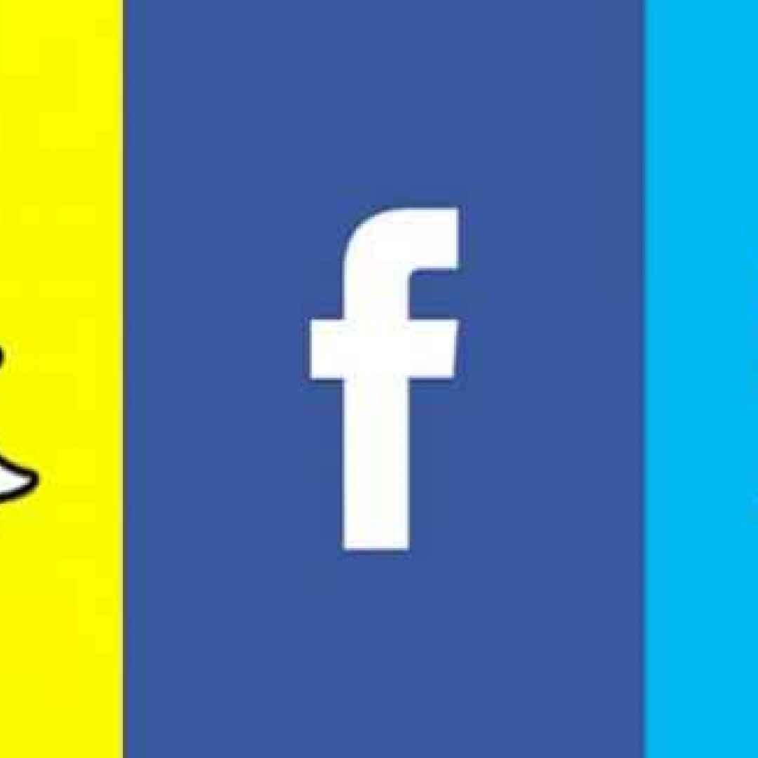 social  facebook  snapchat  twitter