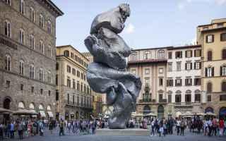 Firenze: arte  scultura  installazione  urs fischer  filrenze  arte contemporanea