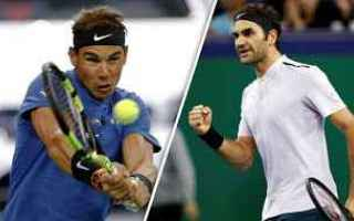 Tennis: tennis grand slam federer nadal shanghai