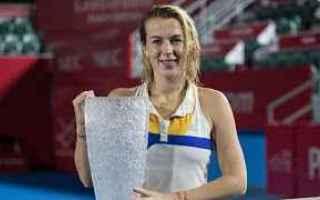 Tennis: tennis grand slam pavlyuchenkova