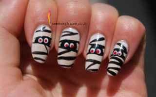 Bellezza: nail art halloween  halloween unghie