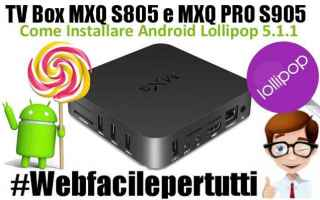 Android: tv box mxq s805   mxq pro s905  android