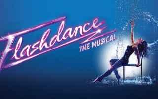 Teatro: musica  flashdance  anni 80