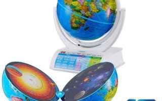 Gadget: mappamondi  realtà aumentata  mappamondo