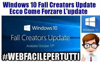 Computer: windows 10 fall creators update