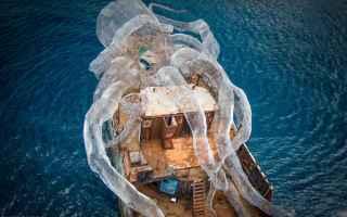 Arte: scultura  kraken  scienza