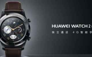 Gadget: smartwatch  huawi watch 2 pro