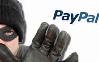 Sicurezza: paypal  spam  truffa