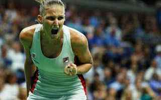 Tennis: tennis grand slam pliskova wta finals