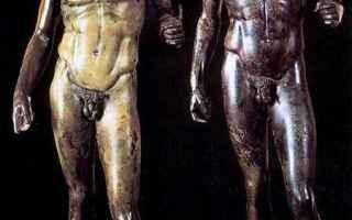 Arte: archeologia  bronzi di riace  scudo  bronzi  riace