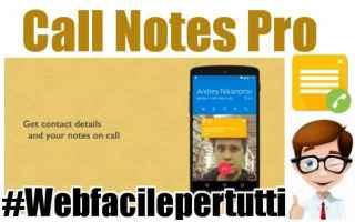 App: call notes pro app