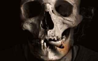 Salute: fumo  sigaretta  tosse  enfisema