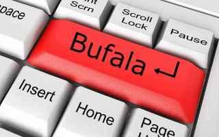 Internet: bufala