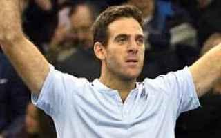 Tennis: tennis grand slam del potro basilea