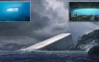 ristorante sottomarino  norvegia  ristorante