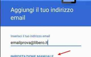 Android: libero mail  account email