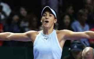 tennis grand slam wta finals semifinali