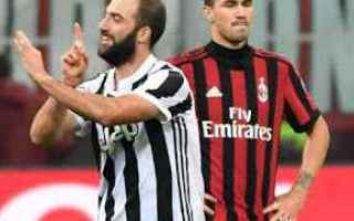 Serie A: milan  juve  higuain