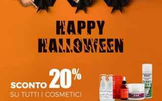 Bellezza: halloween  saldi  cosmetici naturali