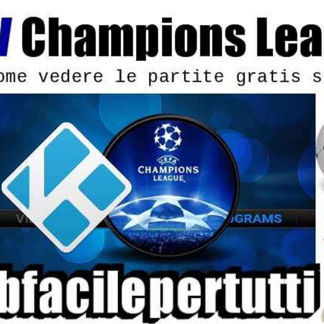 iptv  kodi  champions league
