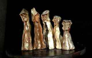 Cultura: divina commedia  sculture  dante