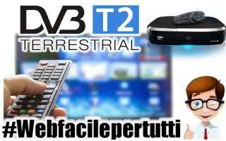 Tecnologie: digitale terrestre  switch off  dvb t2  dvb
