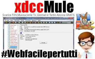 xdcc  file sharing  mirc  guida  xdccmule