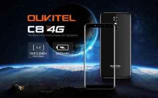 oukitel  oukitel c8  smartphone