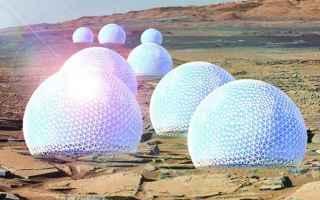 Astronomia: stazione spaziale  marte  valentina sumini