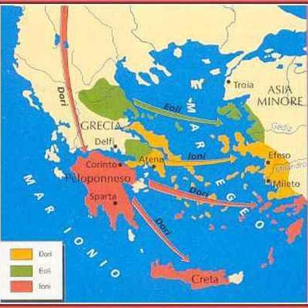 achei  grecia  leggende  minotauro