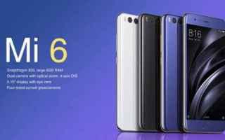 Cellulari: xiaomi  xiaomi mi6  smartphone xiaomi