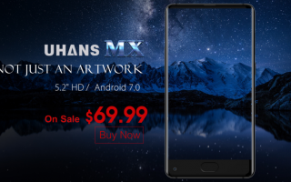 Cellulari: uhans mx  smartphone  android  tech