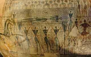 pitsà  pittura greca  policromia  veio