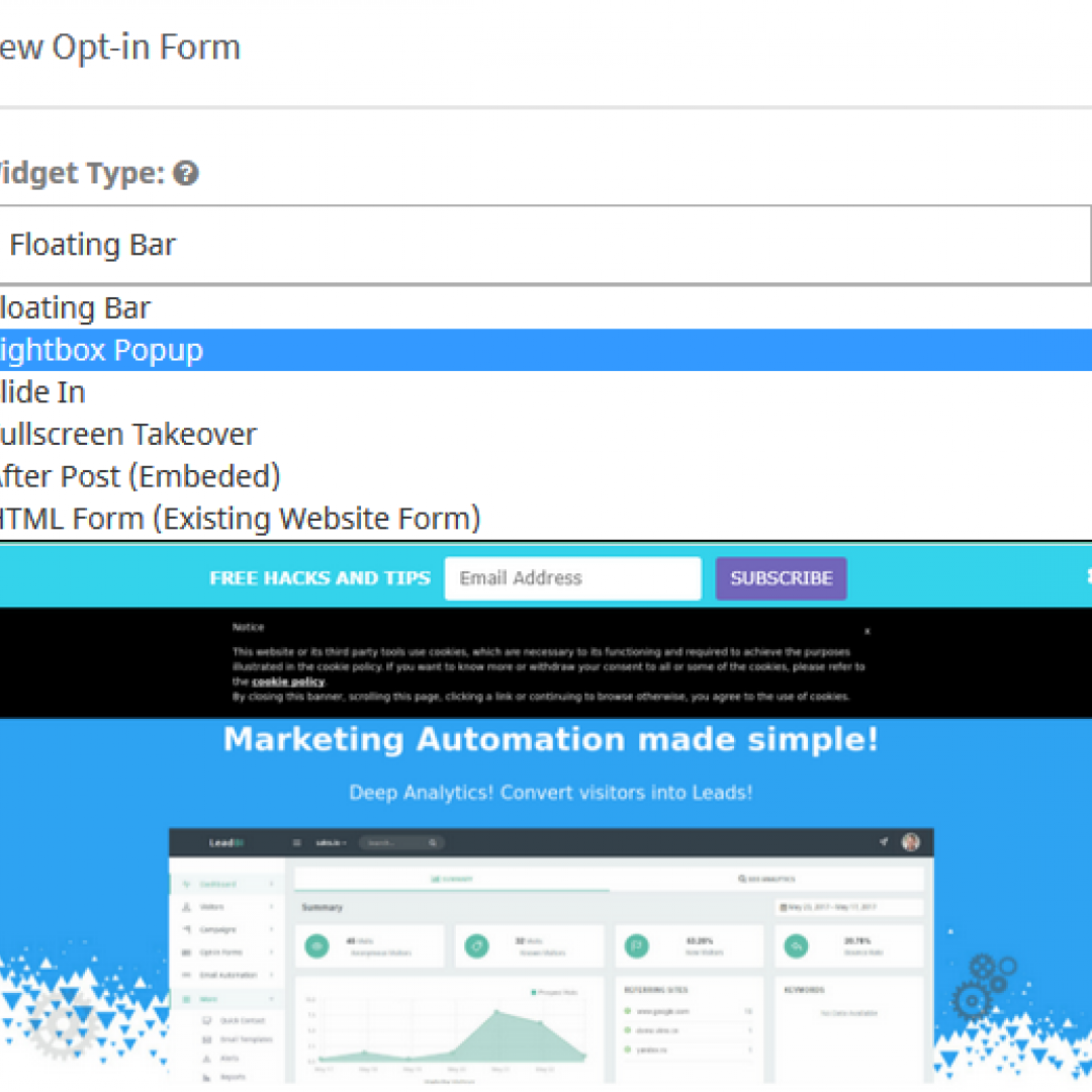 online marketing automation software