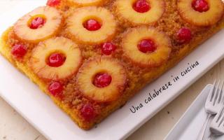 Ricette: Dolci - Come si prepara la torta di ananas