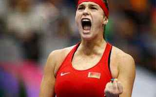 Tennis: tennis grand slam fed cup bielorussia