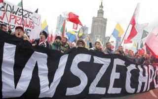 dal Mondo: polonia  nazionalisti  ultra destra