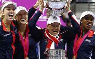 Tennis: tennis grand slam stati uniti fed cup