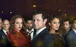 Serie TV : dynasty  serie tv  telefilm  anni 80